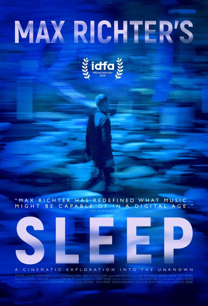 Max Richter Sleep Poster