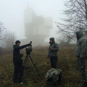 Jóhann Jóhannsson - Last And First Men Filming