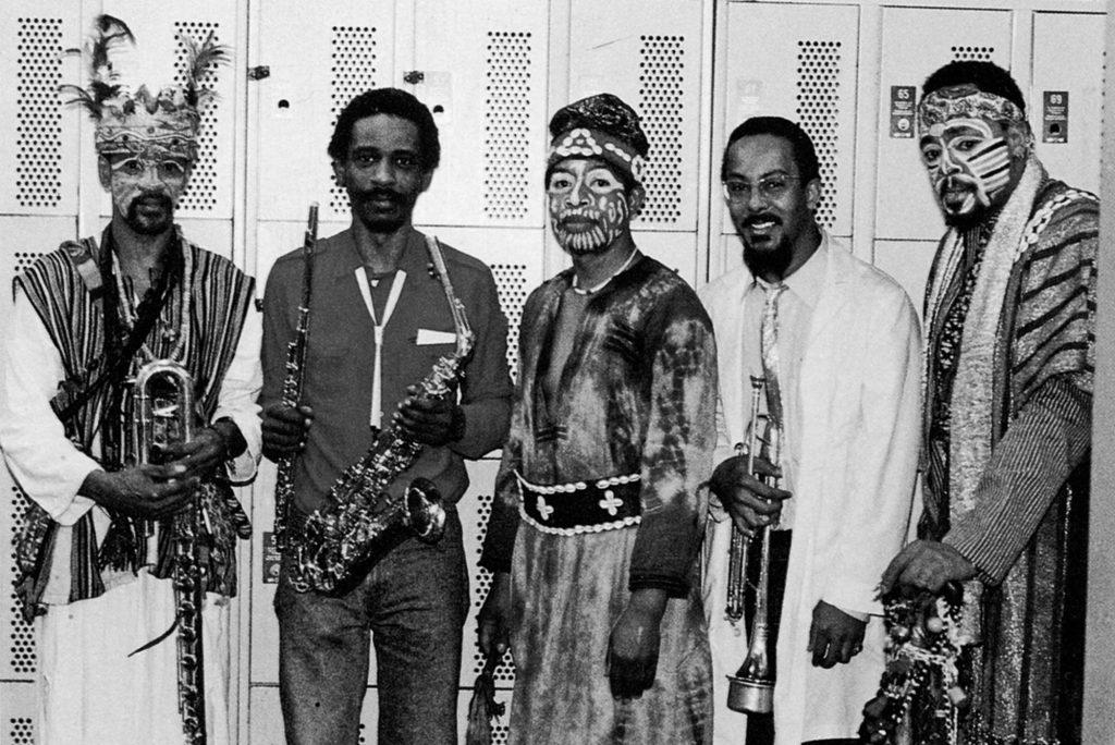 ECM - Jospeh Jarman, Roscoe Mitchell, Malachi Favors Maghostut, Lester Bowie, Famoudou Don Moye © Ralph Quinke – ECM Records GmbH
