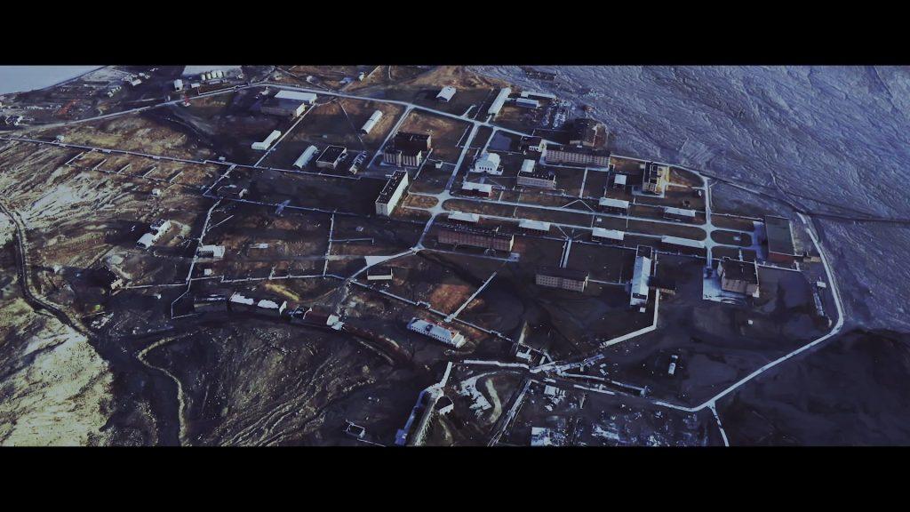 Pyramiden - Aerial Shot